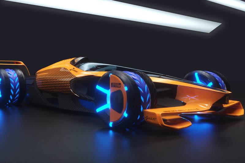 McLaren's vision for F1 2050