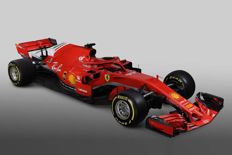 Ferrari reveal their Formula One vehicle for the 2018 season