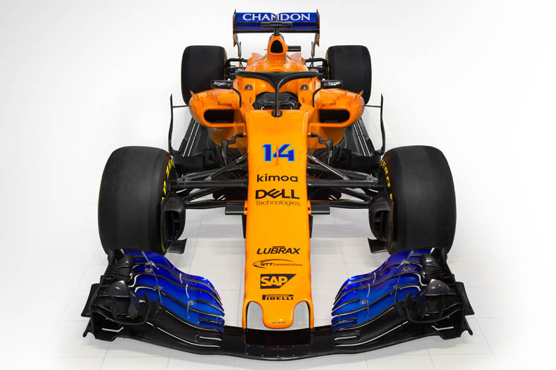 McLaren show true colors as new car unveiled