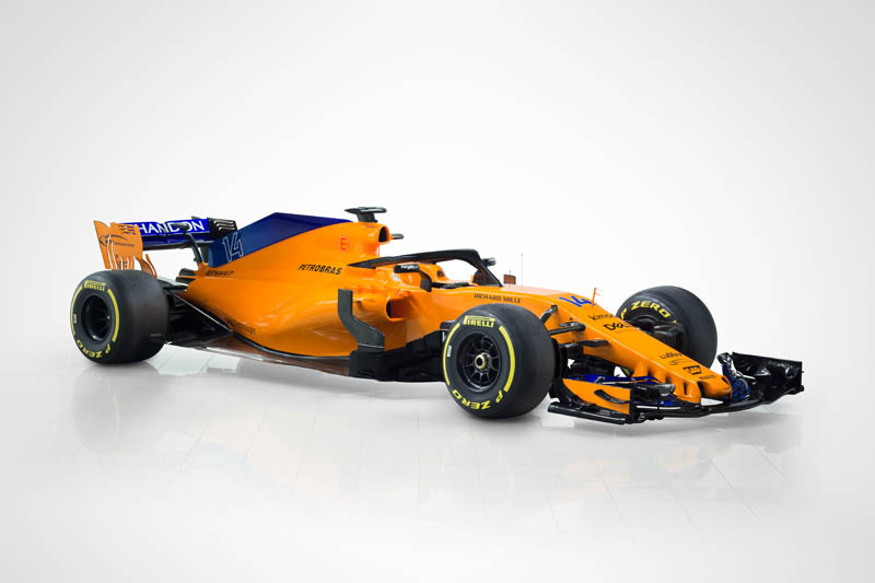 Fernando Alonso excited as new McLaren car unveiled for F1 2018