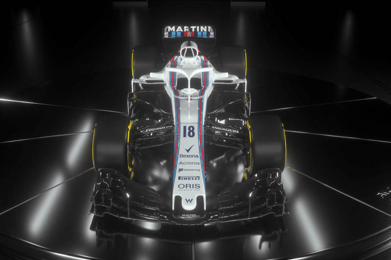 Williams F1 team unveil 2018 Formula One vehicle, confirms Robert Kubica's schedule