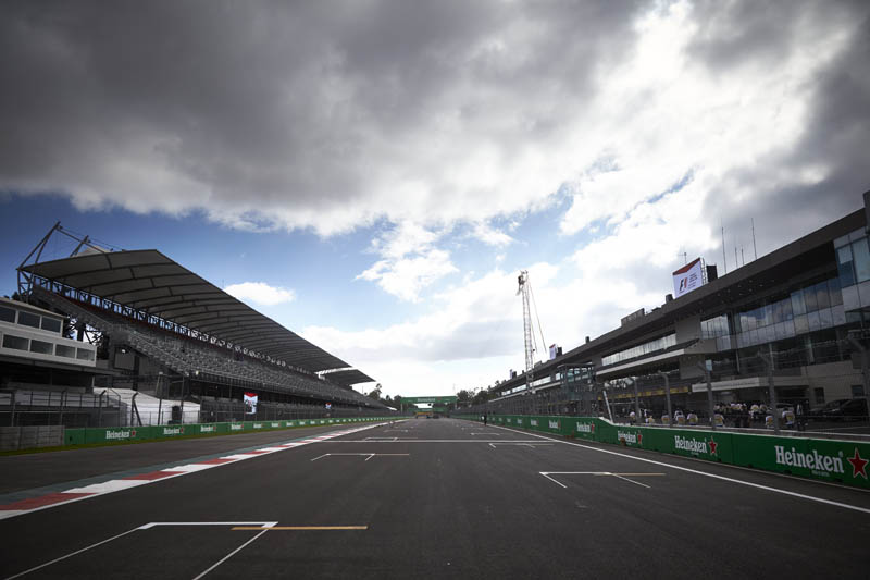 Quake will not stop Mexico GP