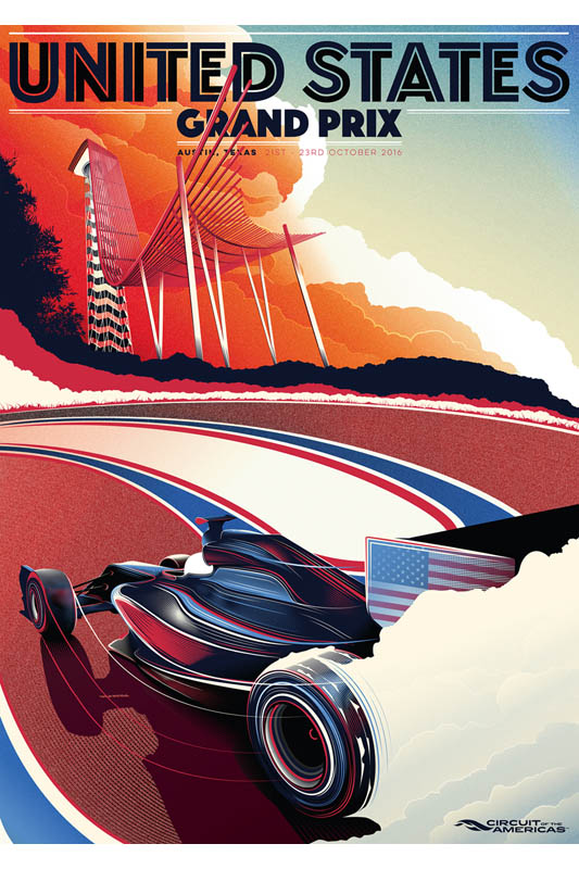 Win A United States Gp Poster Pitpass Com