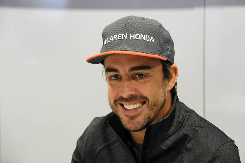 Alonso's McLaren gushes liquid in breakdown during practice
