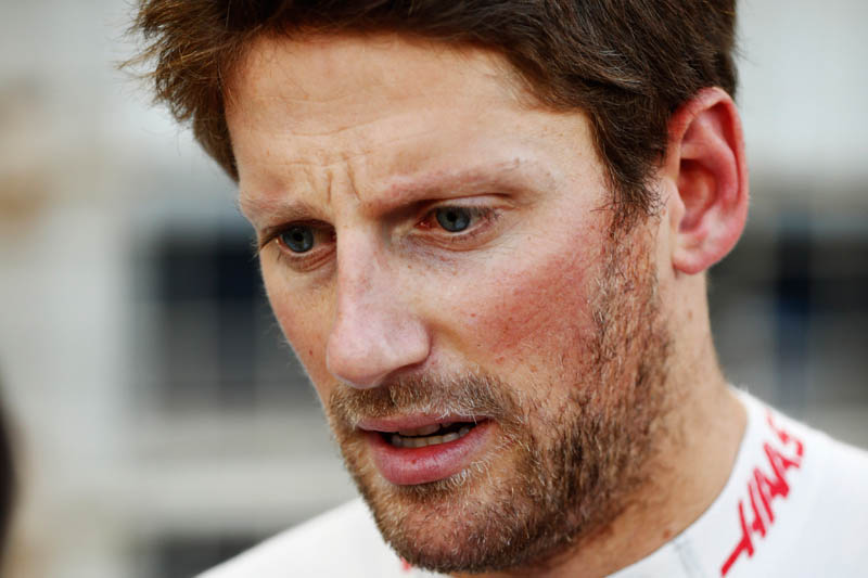 Grosjean loses out on Friday updates
