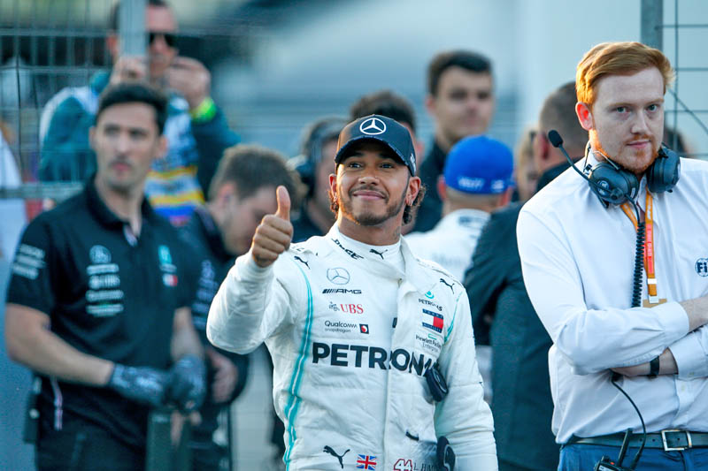 Hamilton wins his 7th Hungarian GP as he chases down Verstappen