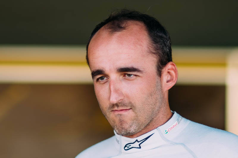 Robert Kubica test with Williams F1 team successful