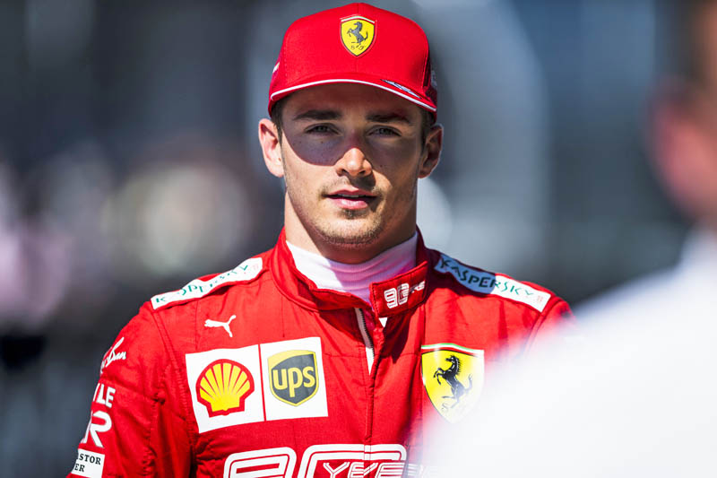 Charles Leclerc dedicates win to F2 driver who died at Spa