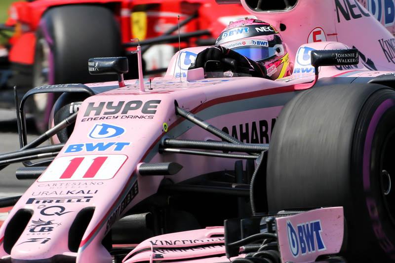 Formula One: Force India pair settle team orders tiff