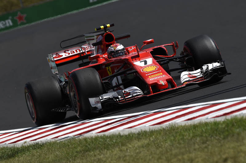 Ferrari reveals upgraded racer for Belgian Grand Prix