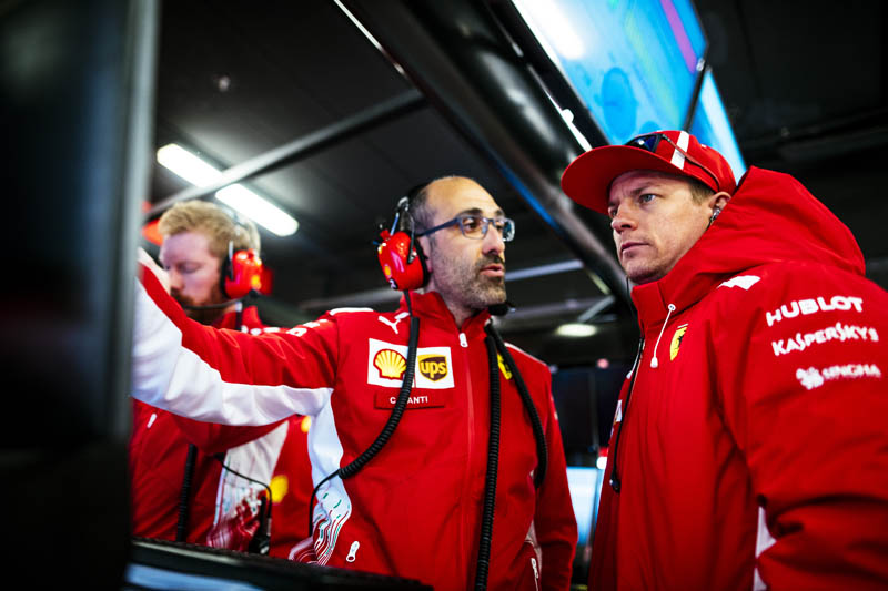 F1 test two: Raikkonen quickest on final day