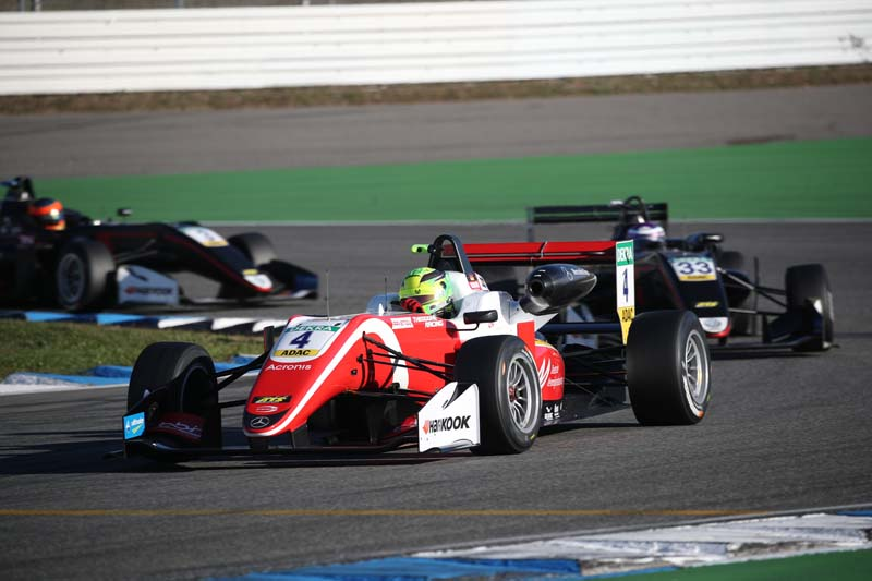 Schumacher's Son Mick Junior Wins European F3 Title
