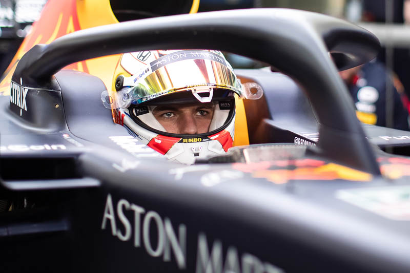 Max Verstappen says a