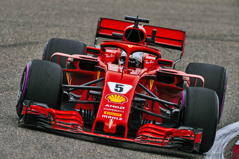 Vettel continues to outpace Hamilton, but gap shrinks