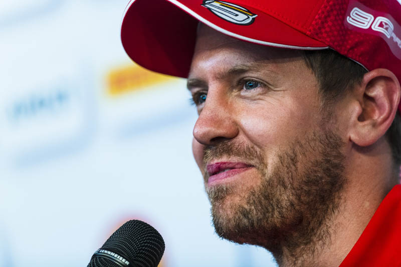 Vettel admits that he is unlikely to win the 2019 world championship