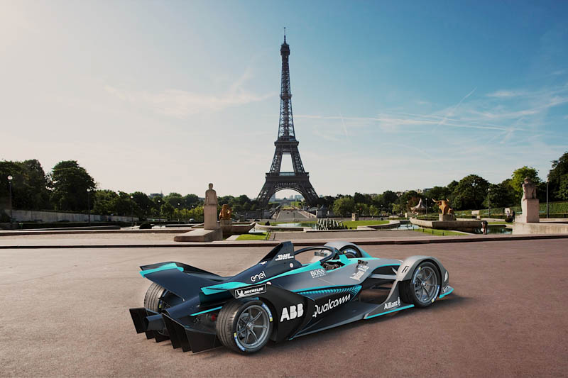 First images of second generation Formula E auto released