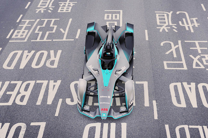 Here's The New Formula E Car And Its Non-Ugly Halo Device