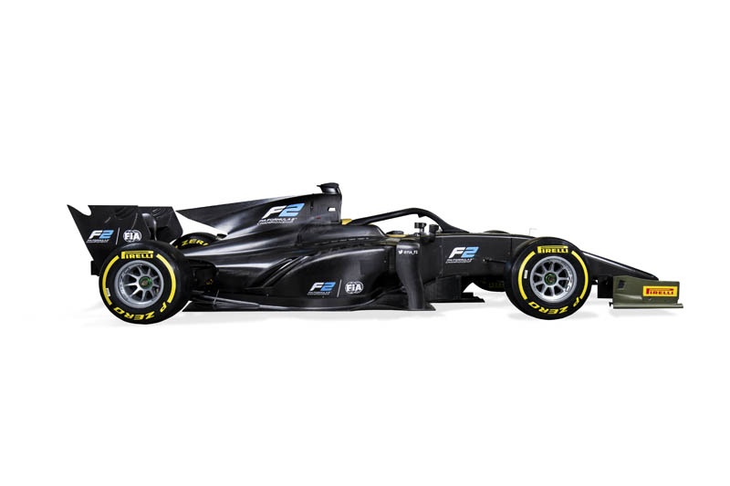 Formula 2's new 2018 auto unveiled at Monza