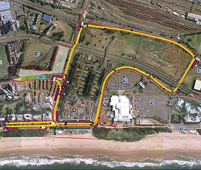 Durban A1 Gp Track Takes Shape Pitpass Com