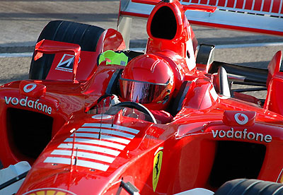 Further Ferrari tests for Rossi - Pitp.com
