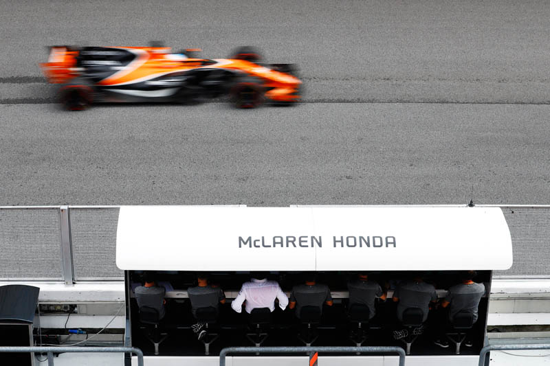 McLaren performance pleases Alonso