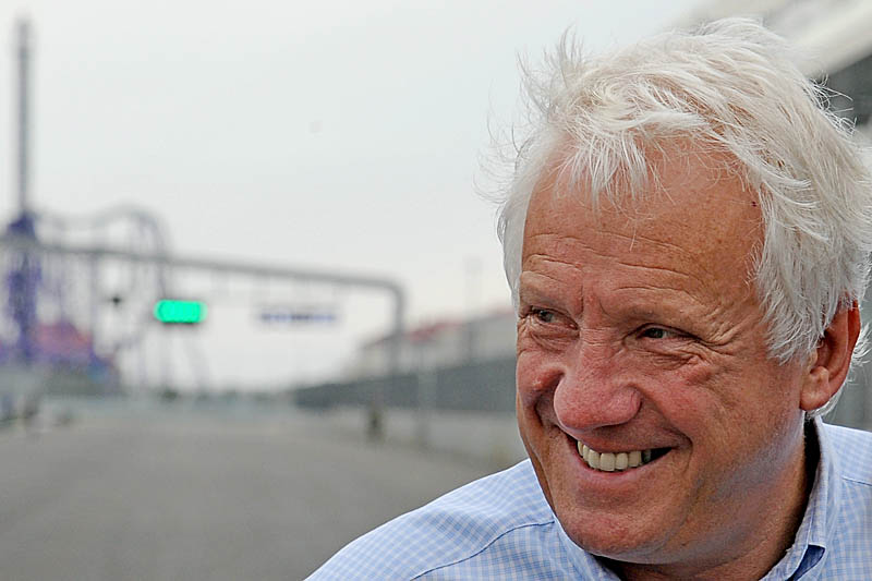 Charlie Whiting Gallery: Charlie Whiting Singapore Media Briefing