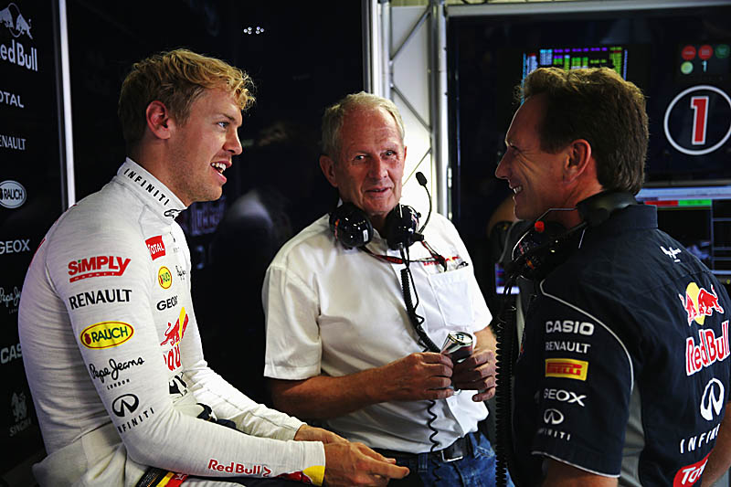 Marko backs Vettel to clinch F1 title