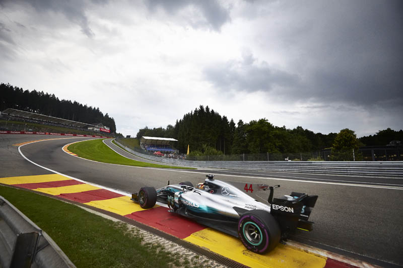 Hamilton gets back to the business of chasing Vettel in Spa