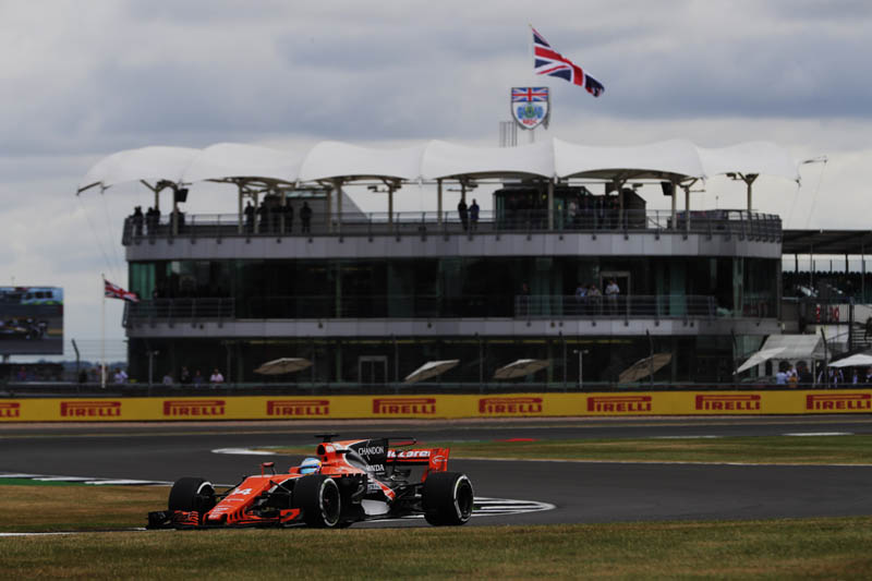 Alonso set to start British GP from the back