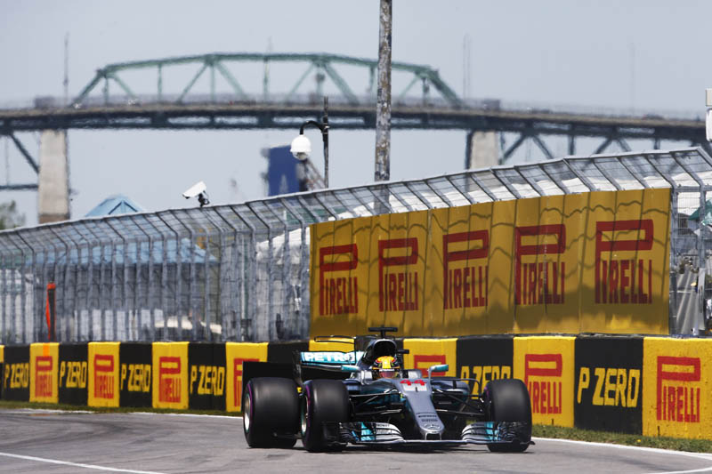No underdog talk at Mercedes after Canada one-two