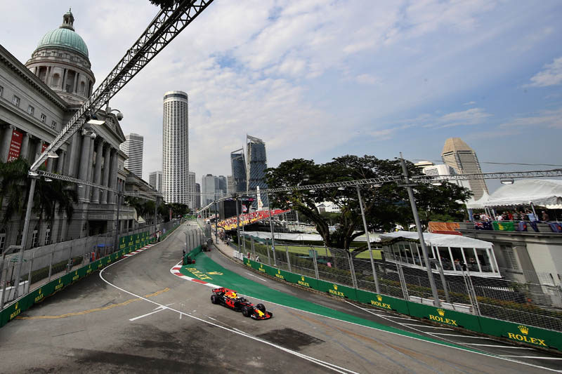 Formula 1 Racing Odds: Singapore Grand Prix 9/14/17