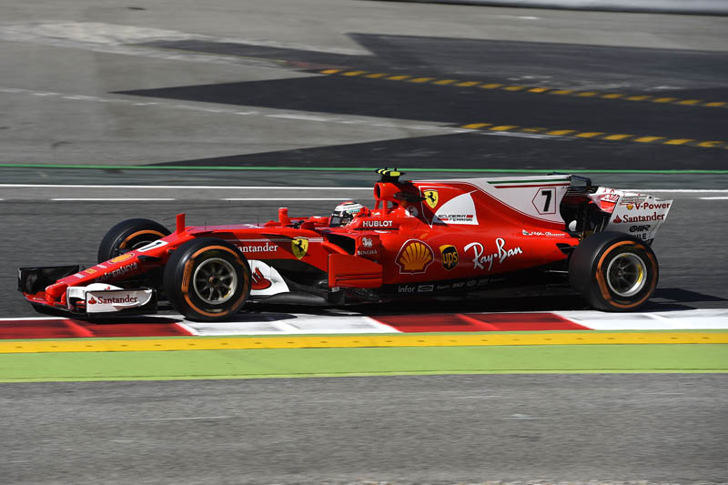 Alonso's engine fails in practice for Barcelona GP