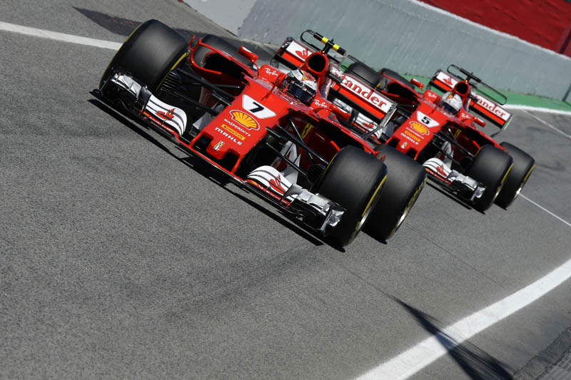 Formula One Spanish Grand Prix starting grid