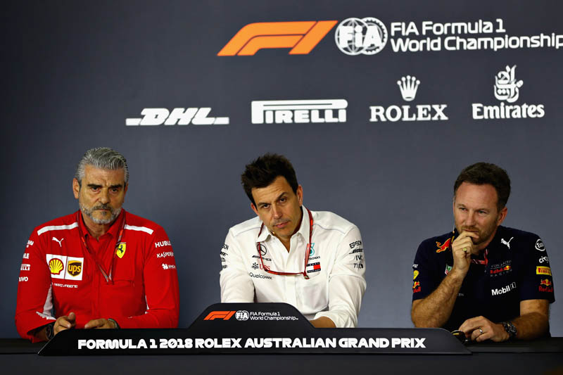 Mercedes ready to fight Ferrari, Red Bull for 2018 F1 title