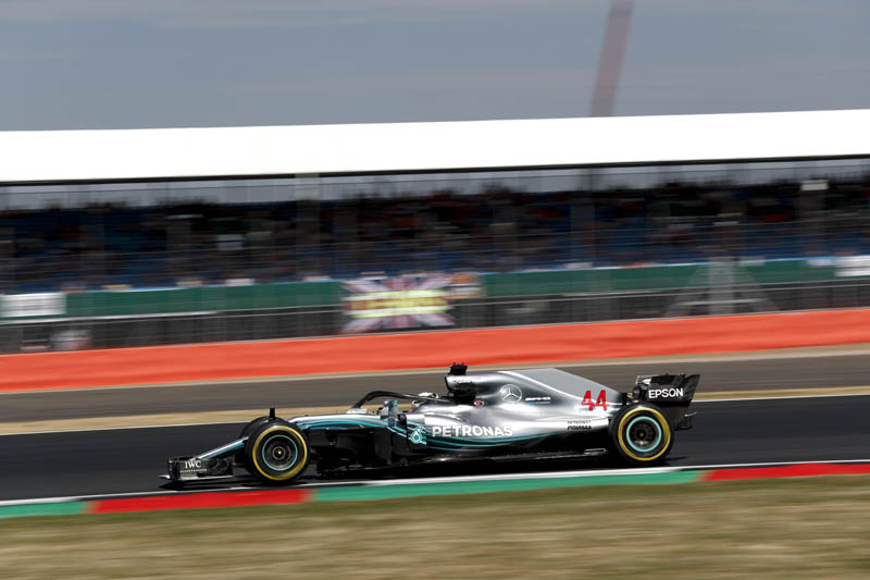 Lewis Hamilton accused of 'crying like a girl' following collision at Silverstone