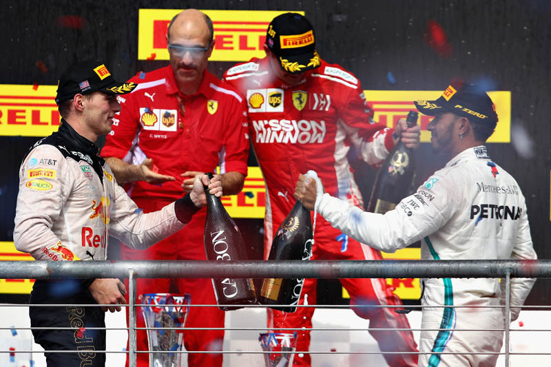 Lewis Hamilton forced to put his F1 title party on hold