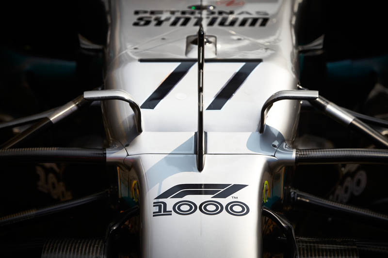 Bottas on pole in Shanghai as Mercedes dominate qualifying