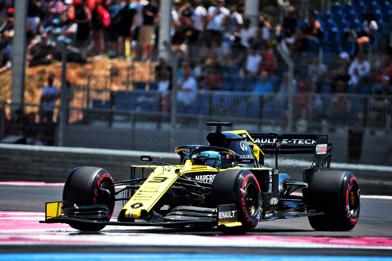 French GP: Qualifying team notes - Renault - Pitpass com