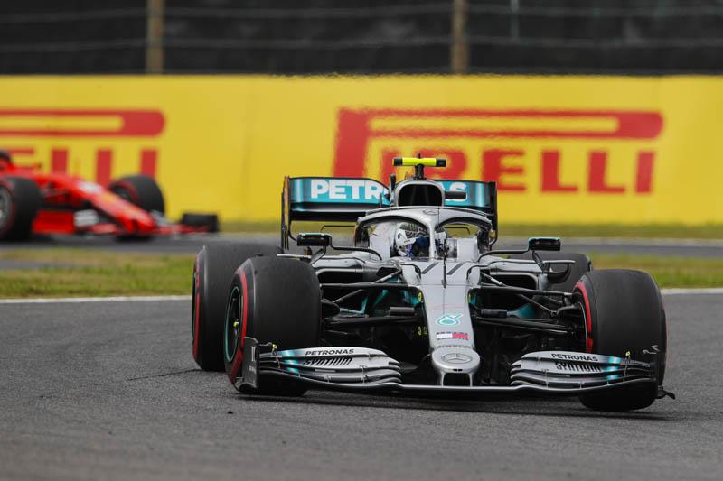 Bottas wins in Japan as Ferrari falters