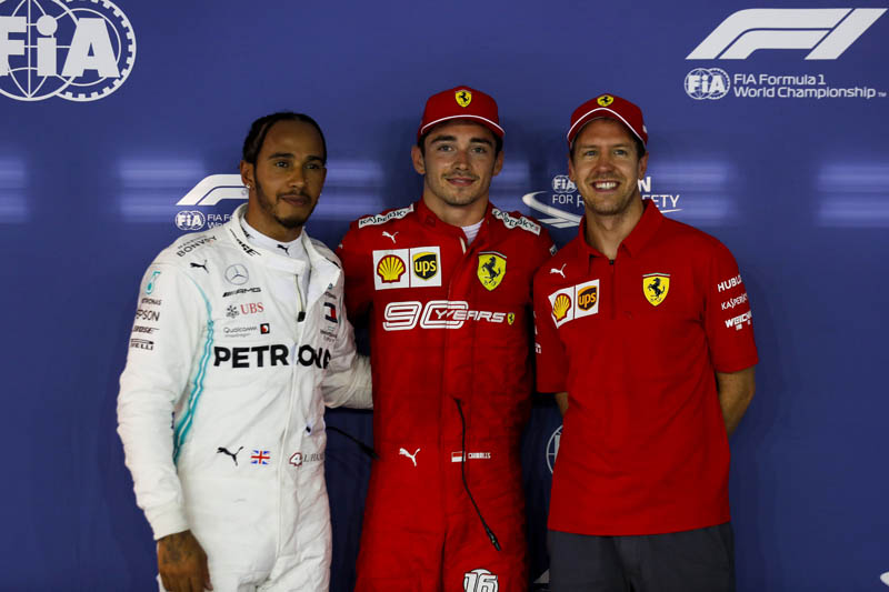 Ferrari driver Leclerc fastest in final practice in Singapore