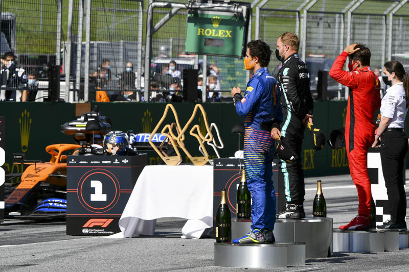Austrian Gp Race Team Notes Mclaren Pitpass Com