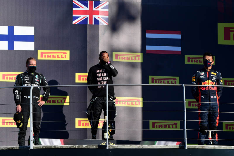 Fia Acts On Podium Protest T Shirts As It Clarifies Clothing Rules Pitpass Com