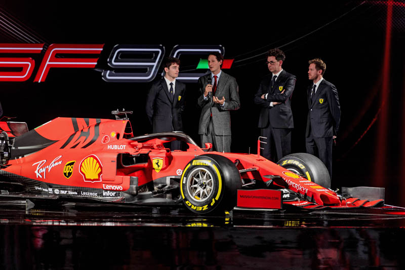 Ferrari Launches 2019 F1 Challenger - SF90