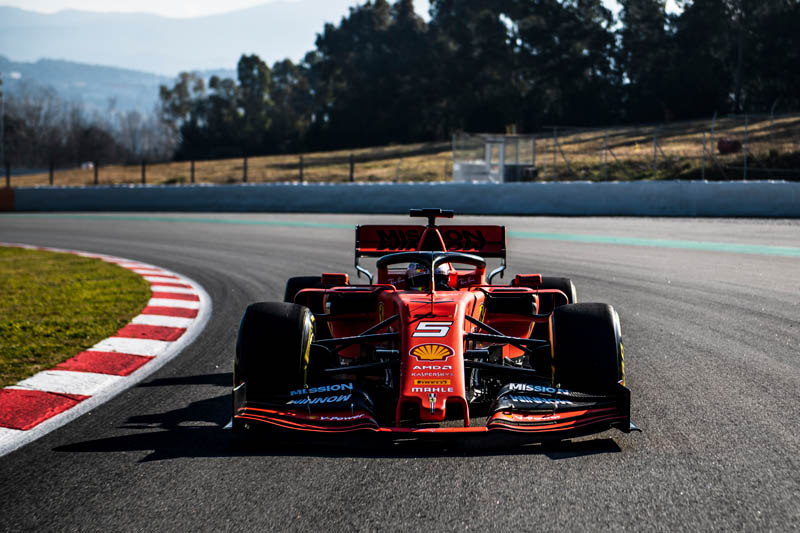 Vettel sets blistering test pace as McLaren also starts strongly
