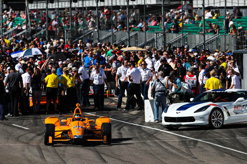 F1 great Alonso to start 5th in Indy 500 debut
