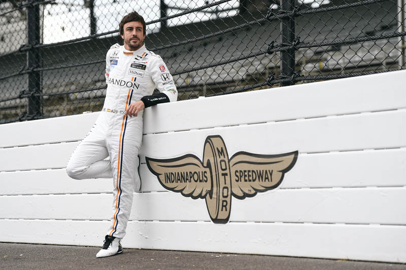 Alonso happy after Indy 500 practice