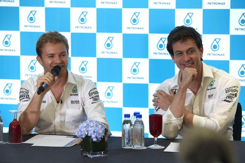Nico Rosberg unsure how far Lewis Hamilton tactics would go