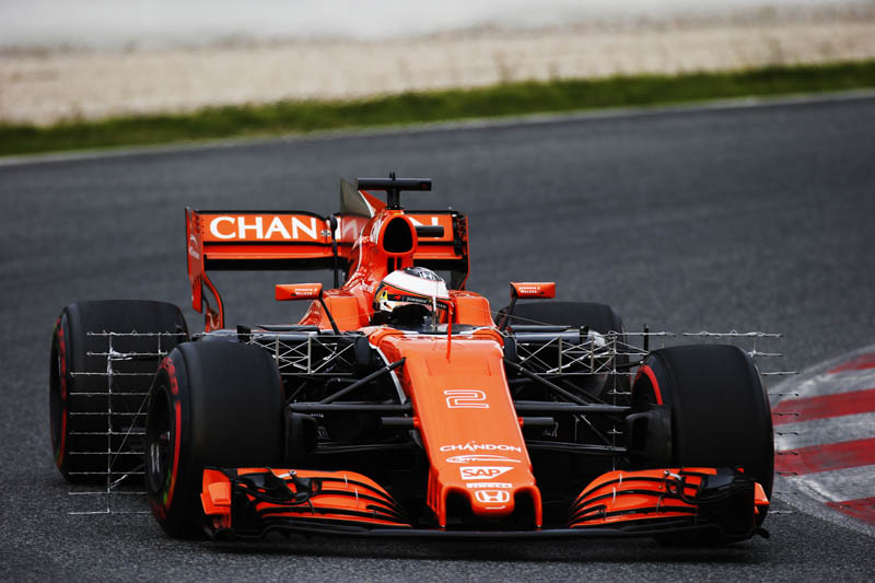 Fernando Alonso says McLaren 'disappointed' with start to testing