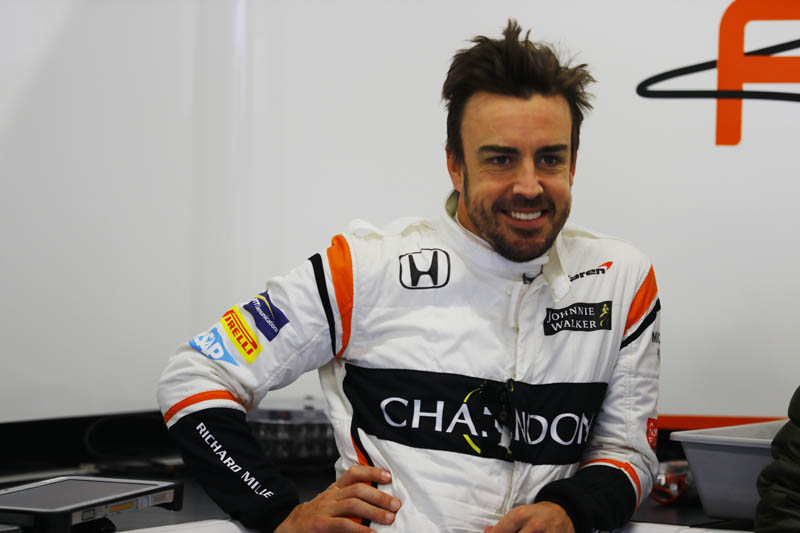 Alonso expecting