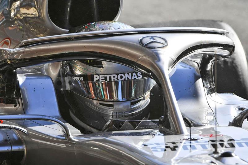 Nikita Mazepin fastest in F1 testing on Mercedes debut